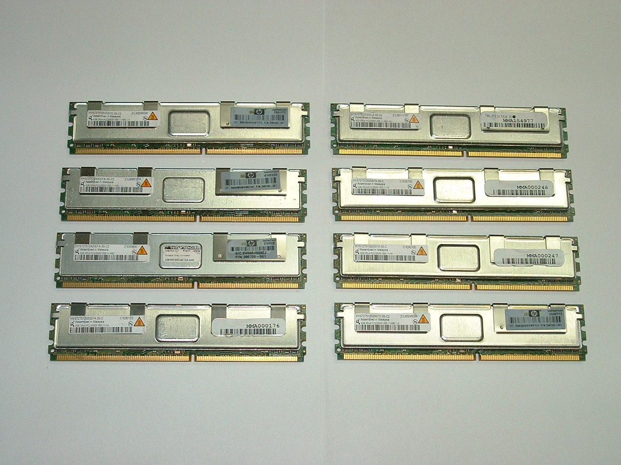 Poweredge 2900 memory slots / Agp slots function
