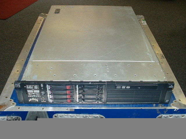 HP Proliant DL360 G7 SERVER 2x QUAD CORE E5520 2.26GHz 32GB 4x 146GB 10K SAS