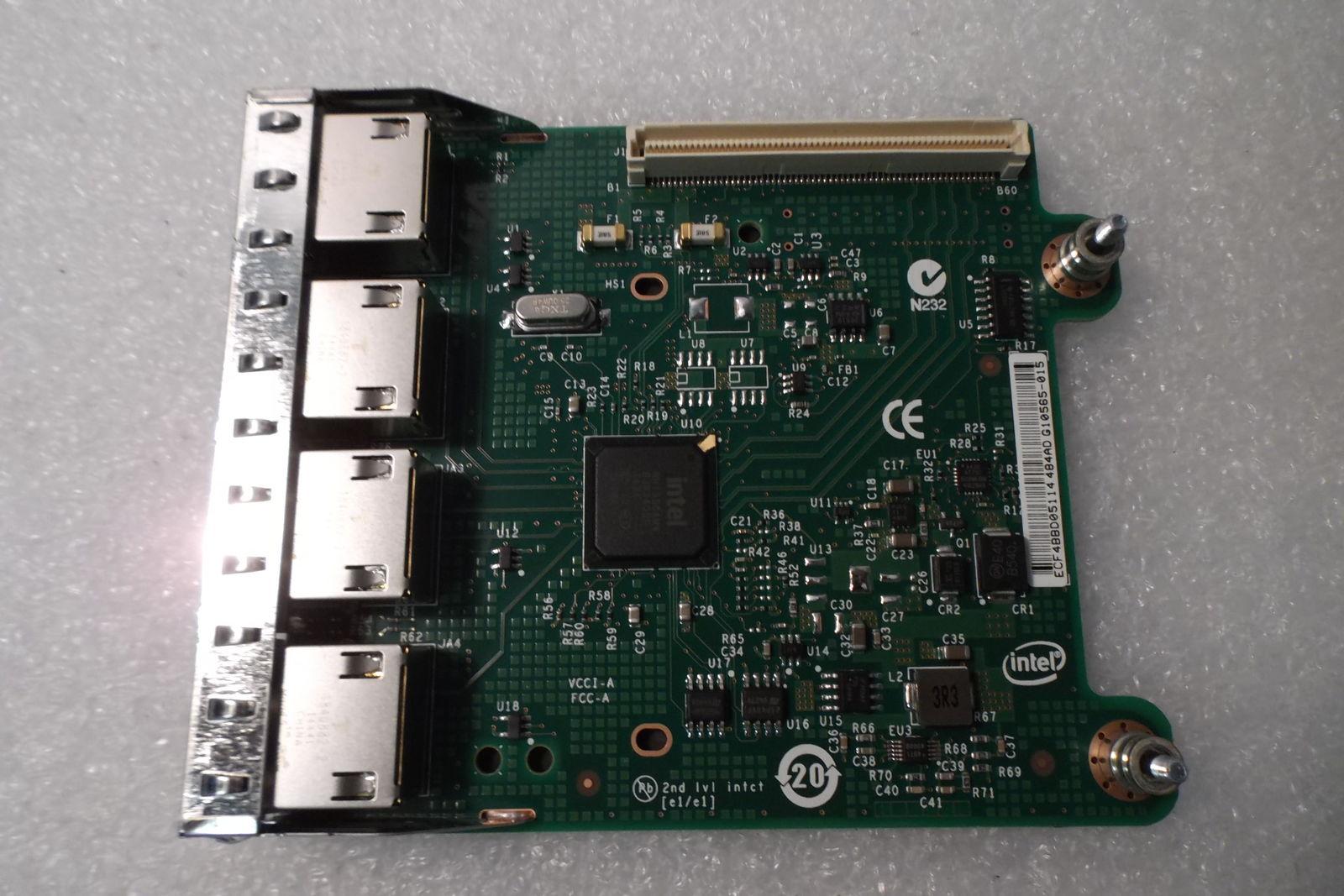 Dell R1XFC Poweredge R720 Quad Port Ethernet Server Adapter