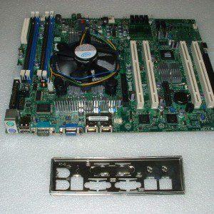 Supermicro-X7SBE-Motherboard-Xeon-X3220-24ghz-CPU-8gb-Heatsink-IO-Plate-371253547673