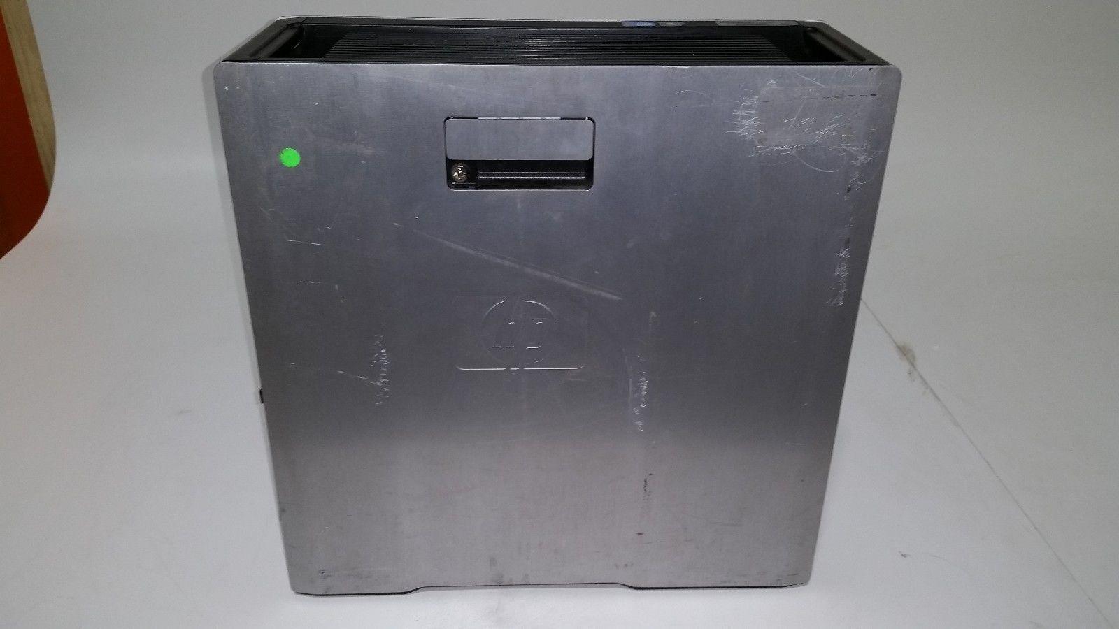 HP Z600 Workstation 2x Xeon E5520 2 26GHz Quad Core / 6GB / 2x 500GB /  DVD-RW / 650W