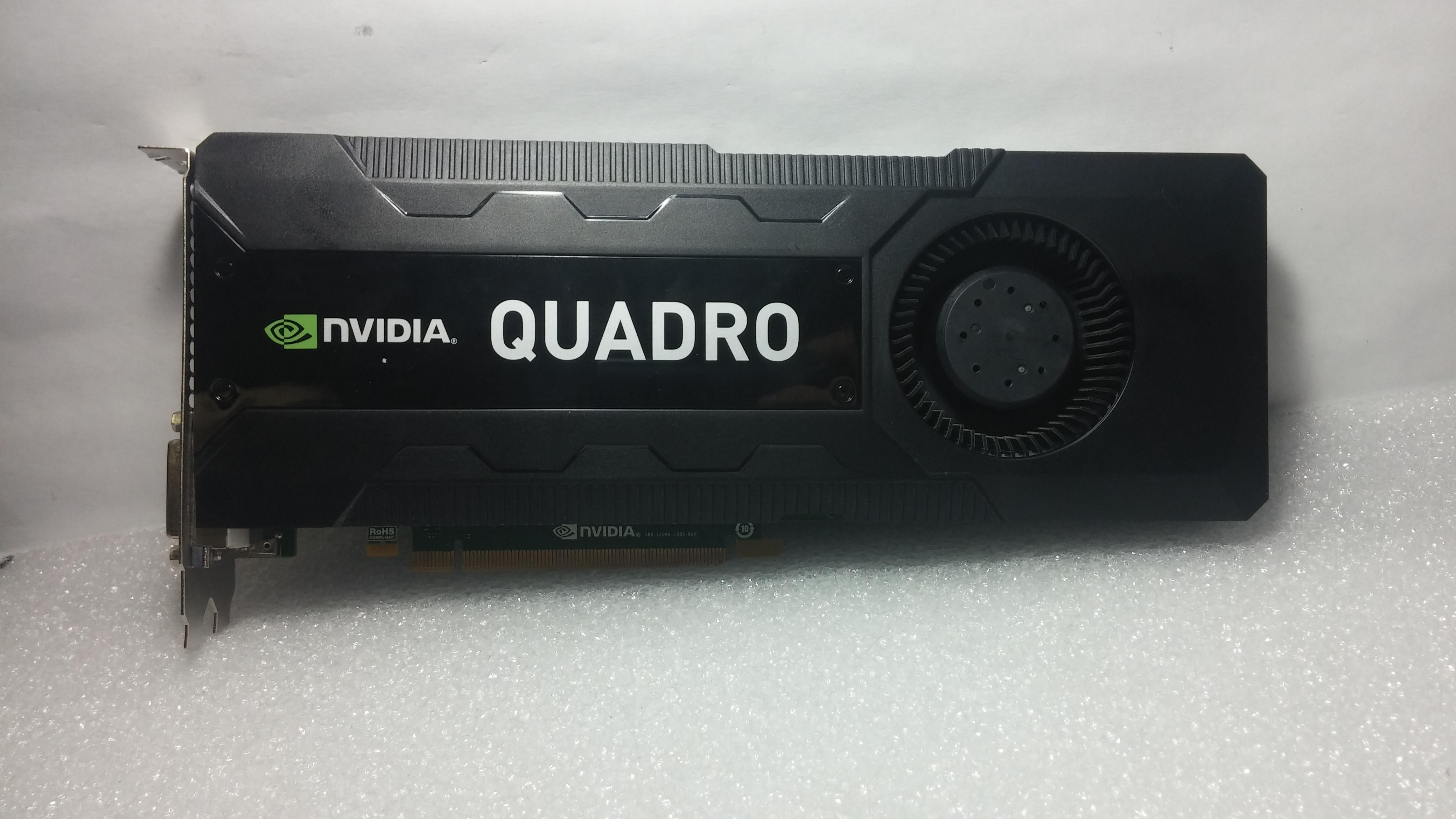 PNY Nvidia VCQK5000-T Quadro K5000 4GB PCI-e Graphics Card WITH ARTIFACTING
