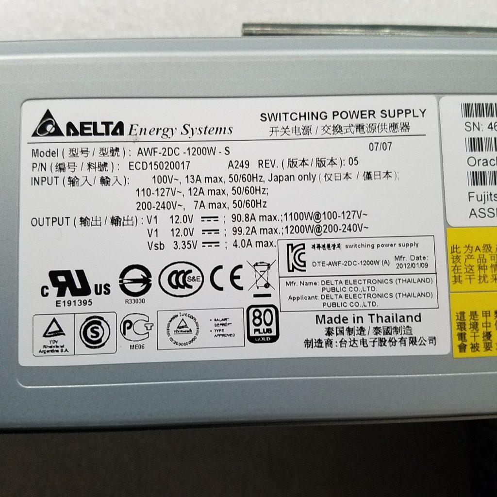 Sun Oracle Sun Fire Server X4270 2U 2x L5640 2 26Ghz 96GB RAM 4x 300GB 10K  Rails