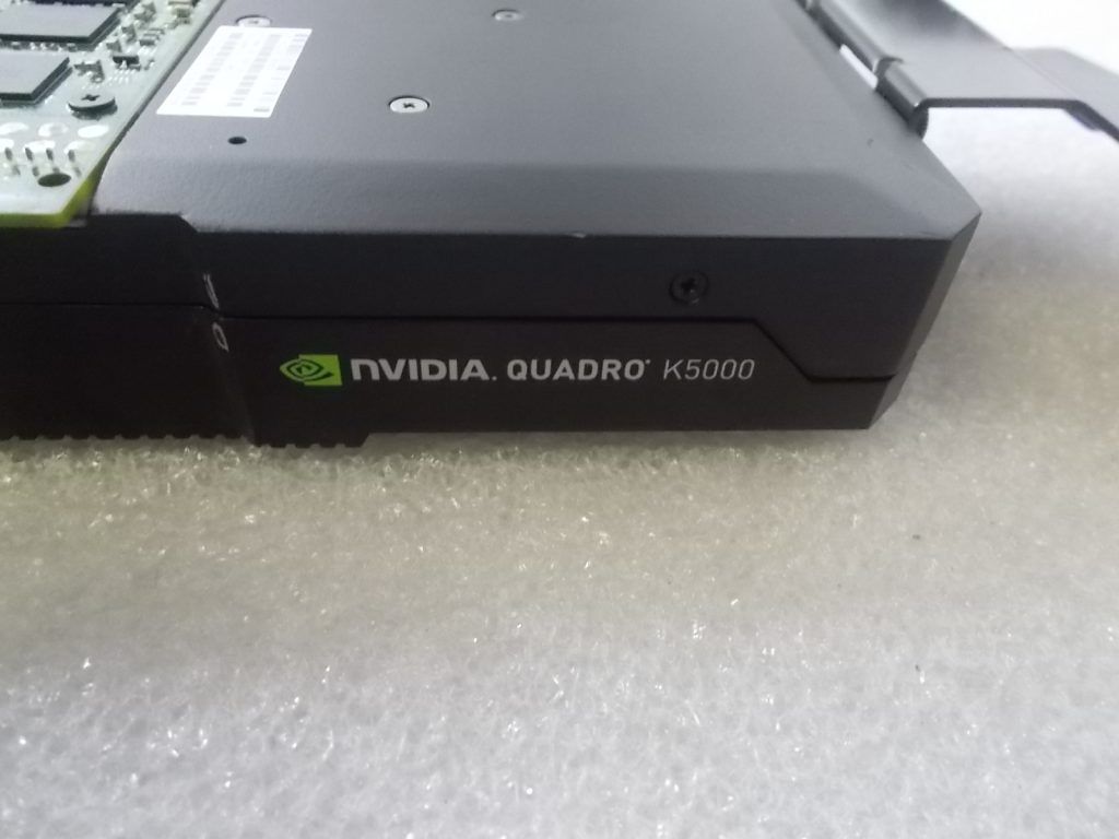 HP NVIDIA Quadro K5000 Graphics Video Card 4GB GDDR5 701980-001 699126-001