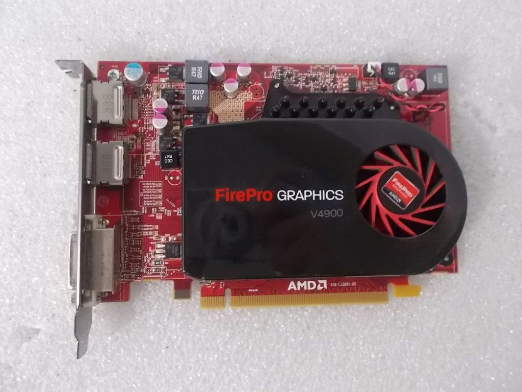 Dell AMD FirePro V4900 1GB DDR3 DVI Dual Display Port PCI-e C8MR2 Video Card