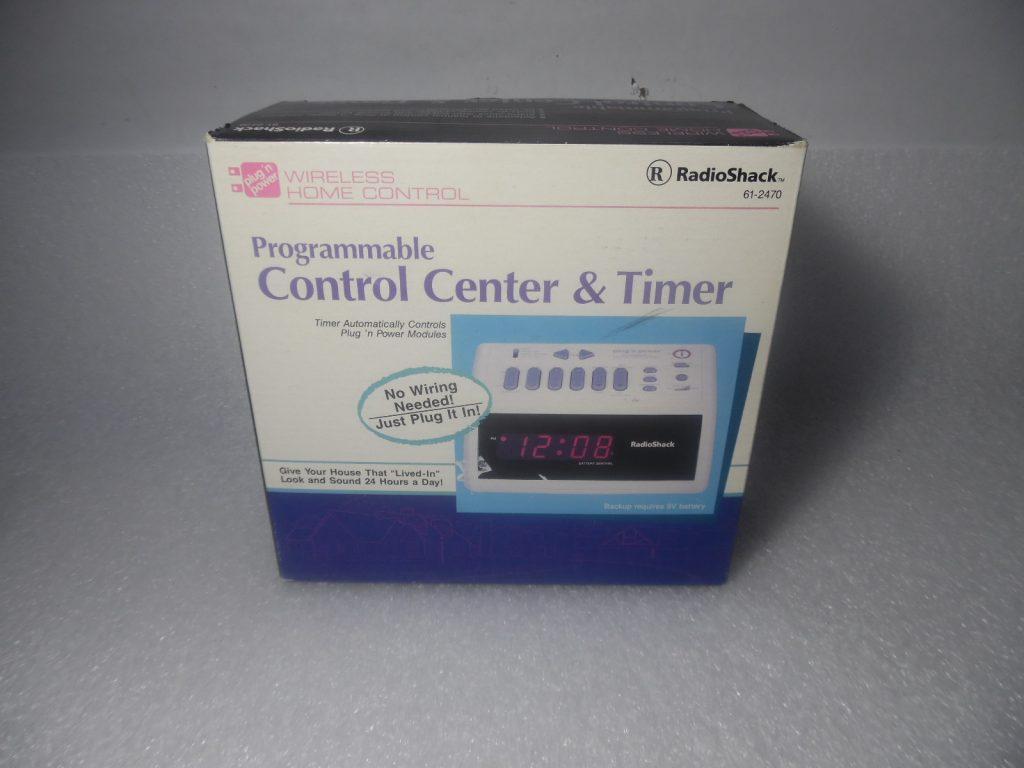 24 Timer Sound radio shack wireless programmable control center & timer 61-2470