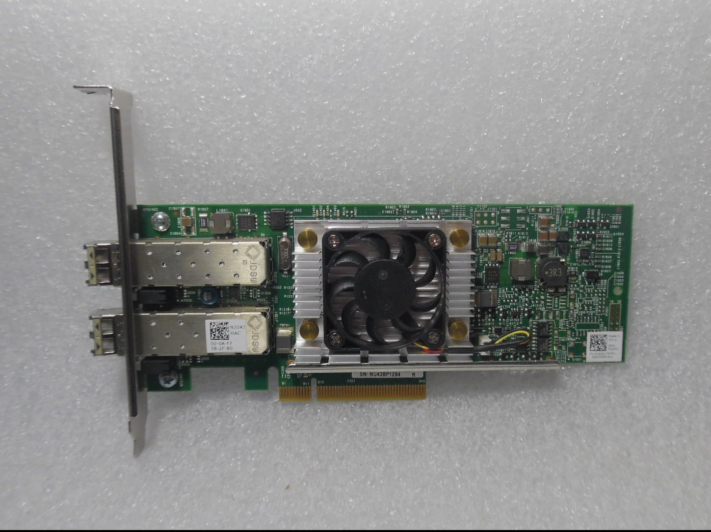 Dell N20KJ Broadcom 57810S Dual Port 10GbE PCIe Converged Network Adapter  SFP+