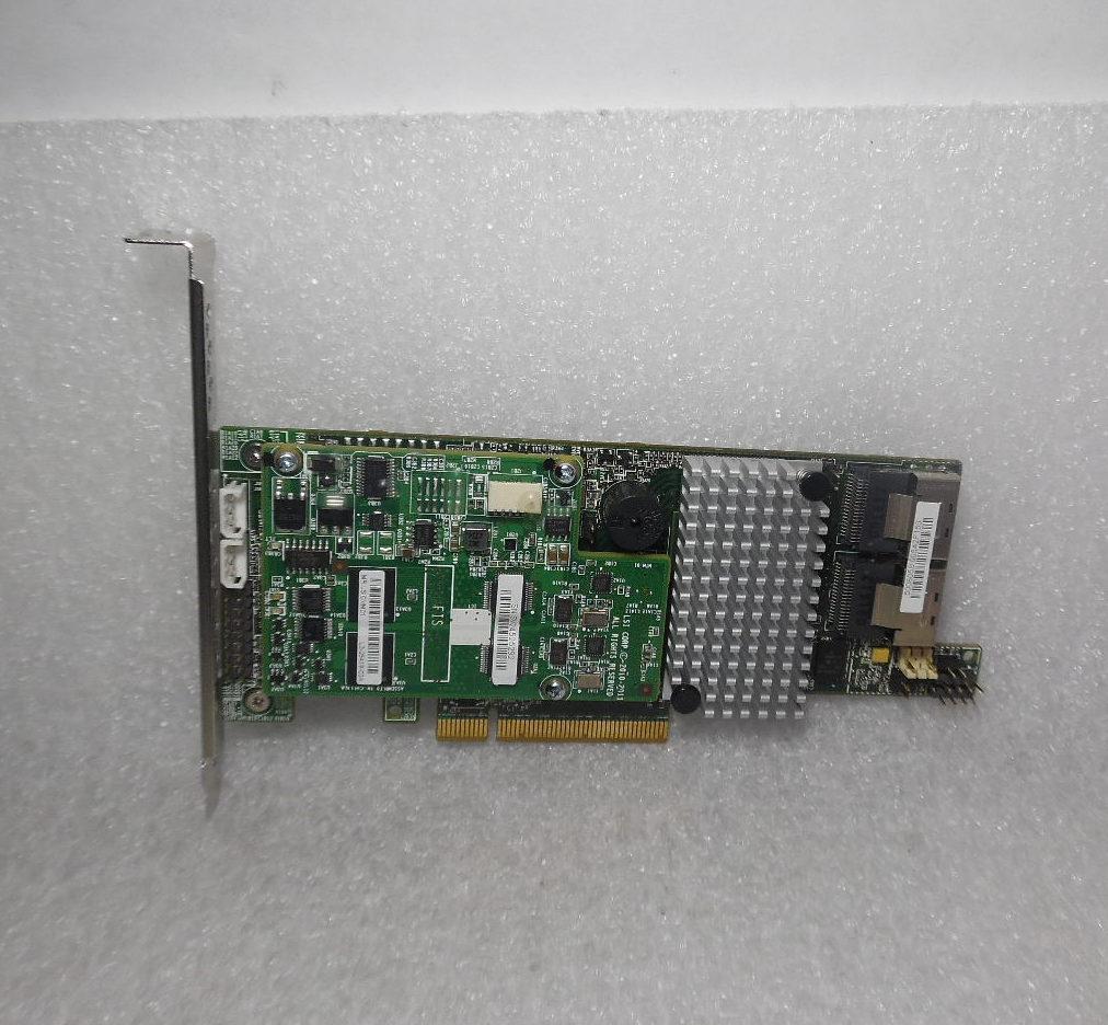 SAS9266-8I LSI MEGARAID 8 PORT 6GB SATA//SAS CONTROLLER CARD LP W// BATTERY