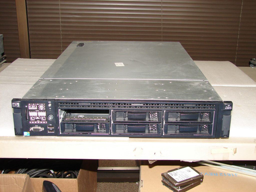 HP Proliant DL380 G7 2x Xeon L5630 2 13GHz QC / 48gb RAM / 4x 300gb 15k