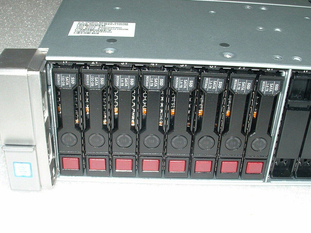 HP Proliant DL380 G6 SERVER 2x QUAD CORE L5520 2.26GHz 64GB RAM 1x 120GB SSD
