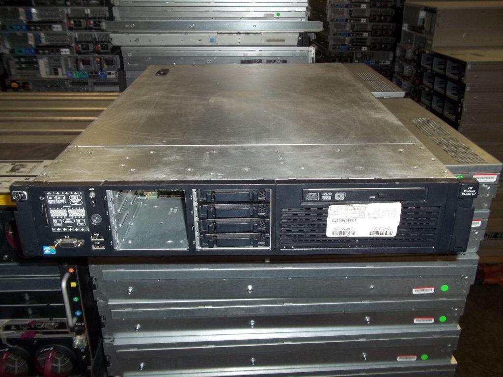 2x 750w 8x 146gb 64GB HP DL380 G7 2x Xeon L5640 2.26ghz Hex Core P410