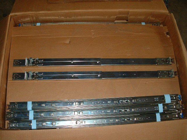 Dell Poweredge R610 R710 Server Rail Kit (Square/Round Hole / No Rack Ears)