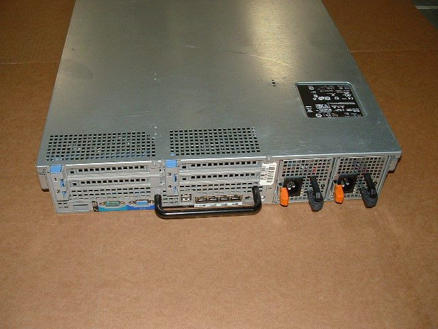 Dell Poweredge R710 2x Xeon L5520 2.26ghz 8-Cores 2x Trays 72gb 2x 870w