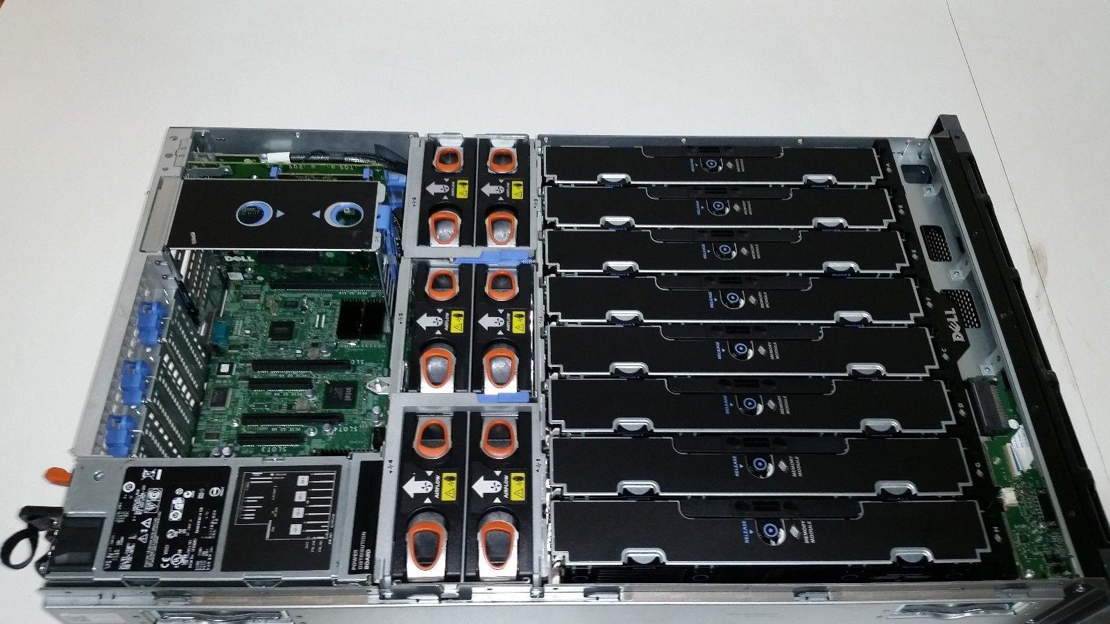 Dell Poweredge R910 4x Xeon X7550 2ghz 8 Core 64gb Ram