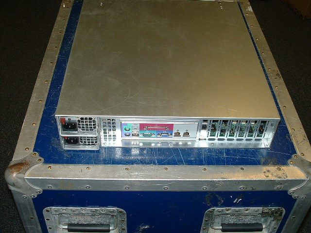 Supermicro 2U Server X7DBE+ 2x Xeon X5450 3ghz Quad Core / 64gb / 2x 1tb